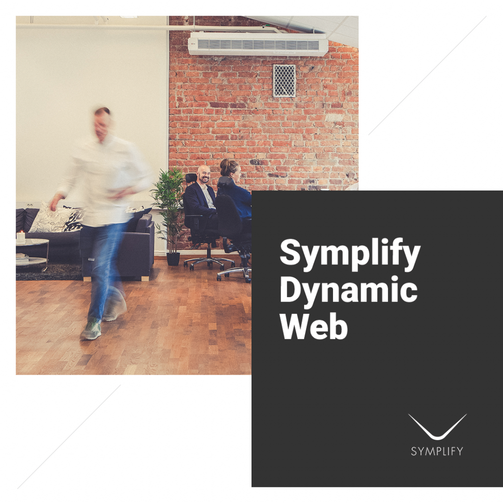 Symplify dynamic web