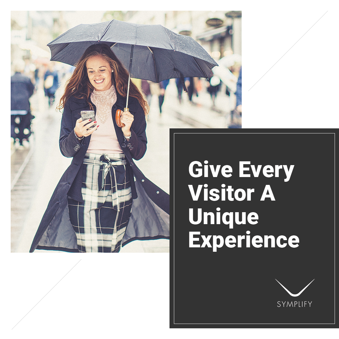 Personalize Your Website Experience